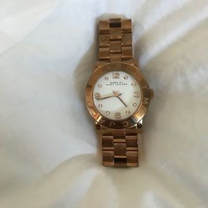 Marc by Marc jacobs watch gold rose gold